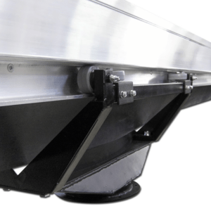 sliding fume rail